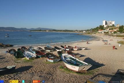Resultado de imagen de Fontaiña playa