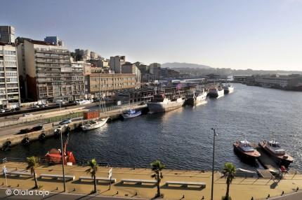 Visite guid e du port pour coles turismo de vigo for Oficina turismo vigo